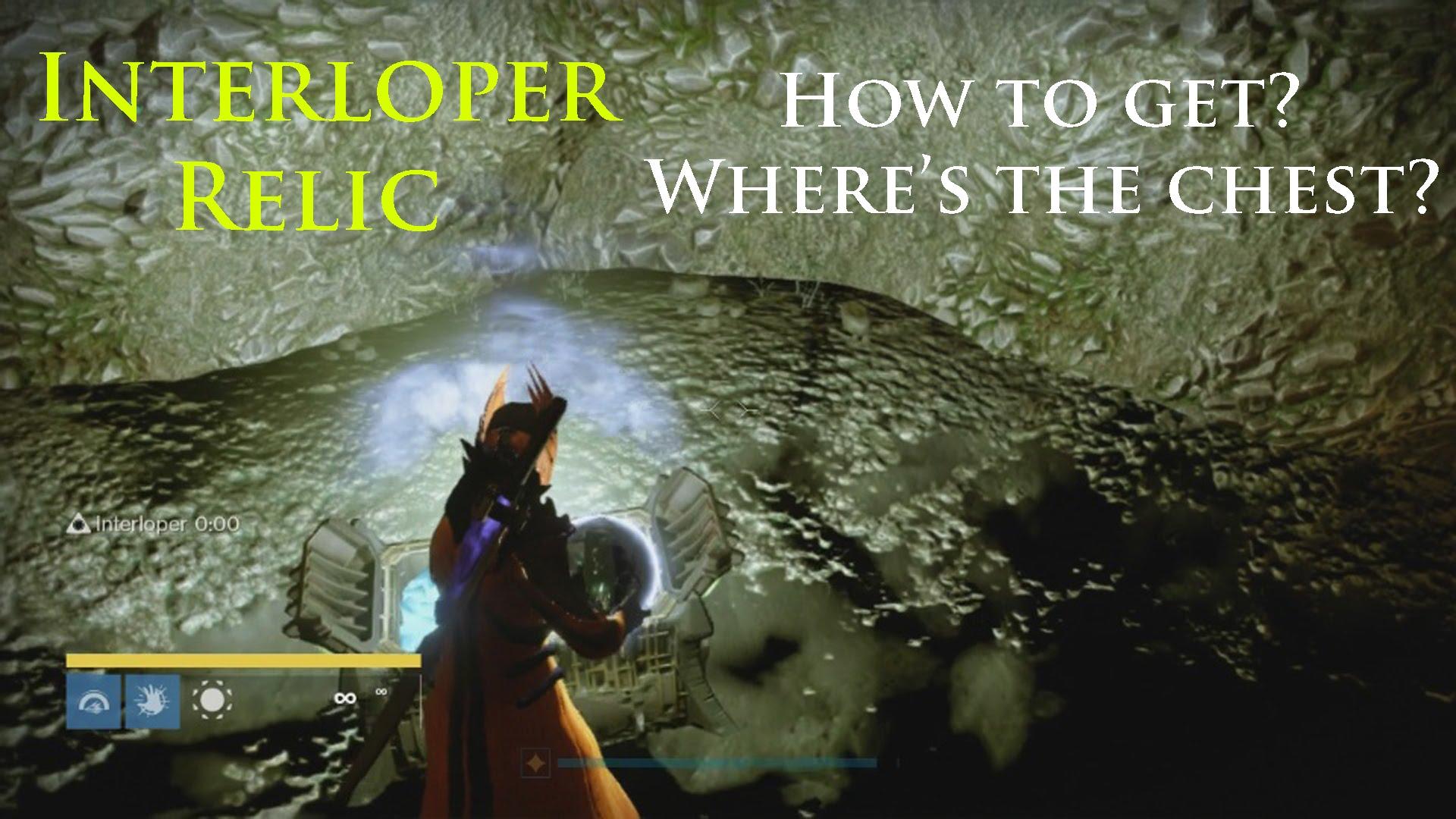 Destiny: Interloper Relic Secret Chest Location!.