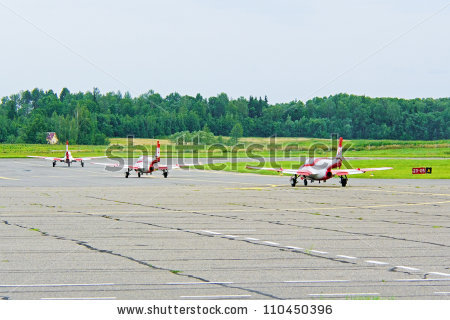 Motor Hangglider Flies Blue Sky Stock Photo 49475941.