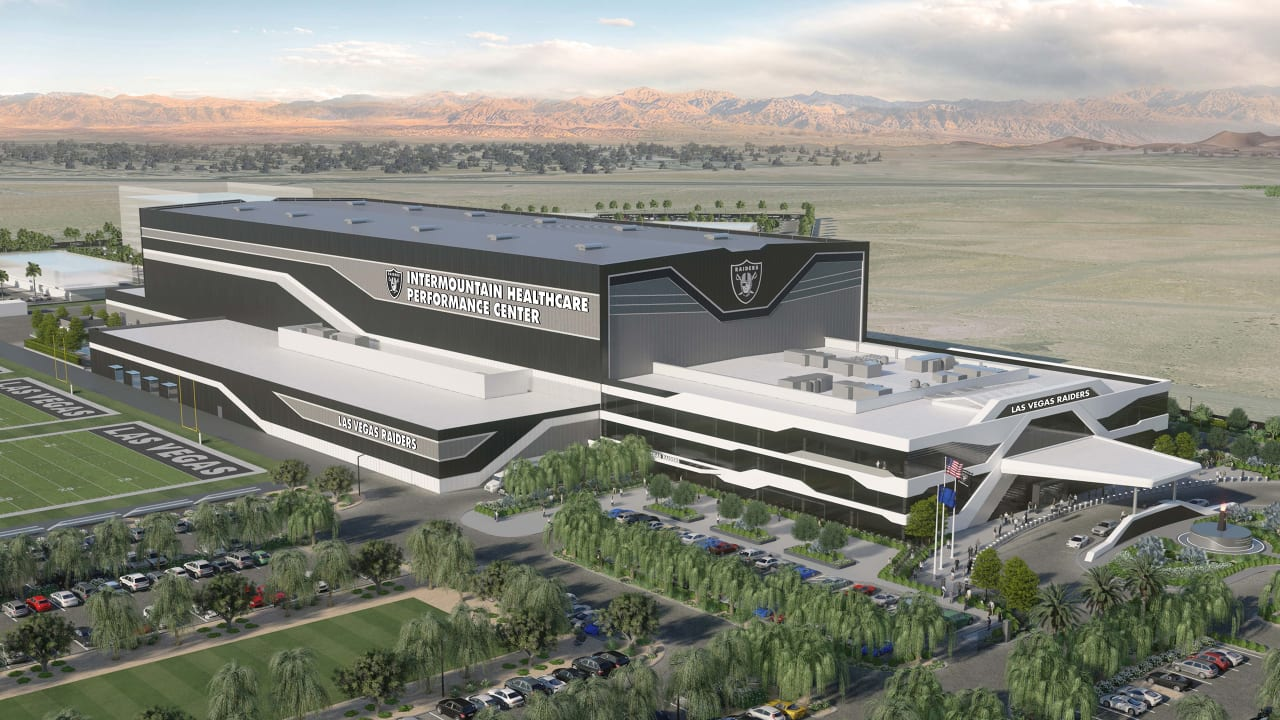 Raiders and Intermountain Healthcare join in health partnership.