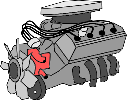 Combustion Engine Clipart.