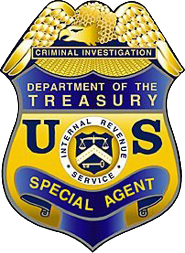 IRS Criminal Investigation Division.