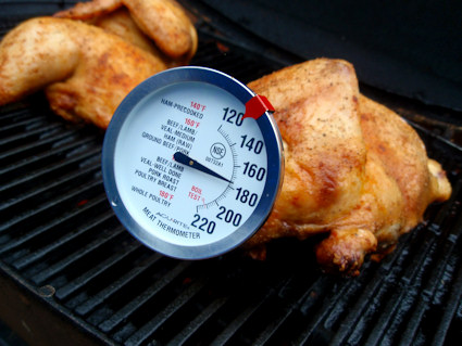Grilled Half Chicken.