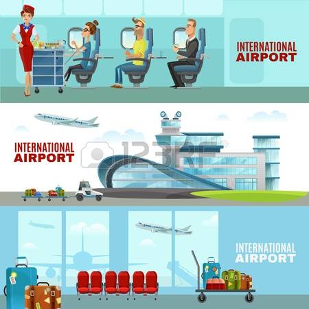 10,633 International Airport Cliparts, Stock Vector And Royalty.