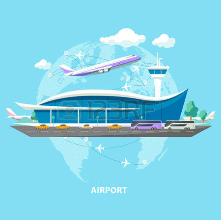 51,698 Airport Stock Vector Illustration And Royalty Free Airport.