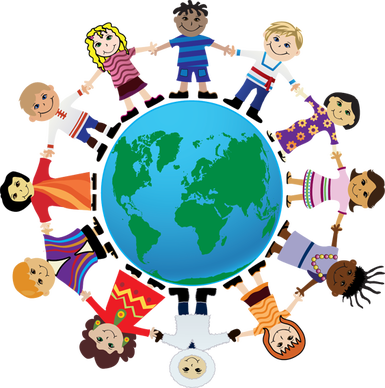 Clip Art for International Friendship Day.