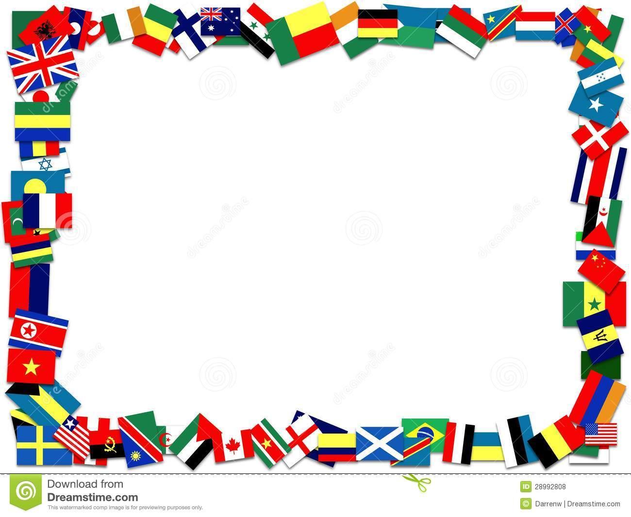Flag Border.
