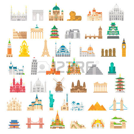 10,045 International Landmark Cliparts, Stock Vector And Royalty.
