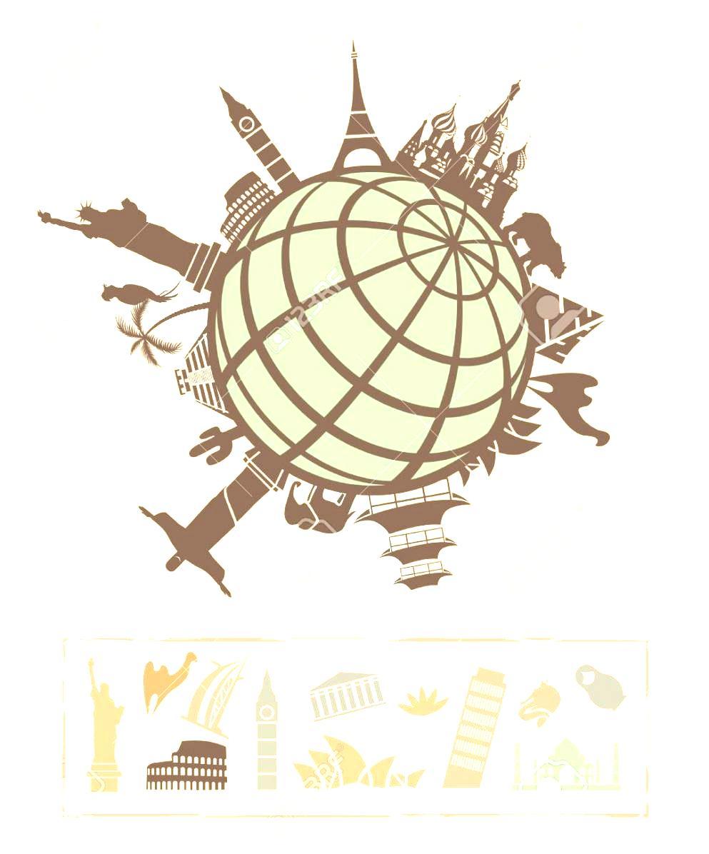 Travel Around The World Clipart International Landmark Cliparts.