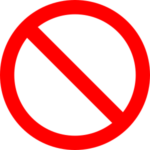 No symbols clip art clipart images gallery for free download.