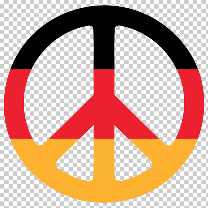Flag of Germany Peace symbols International Fellowship of.