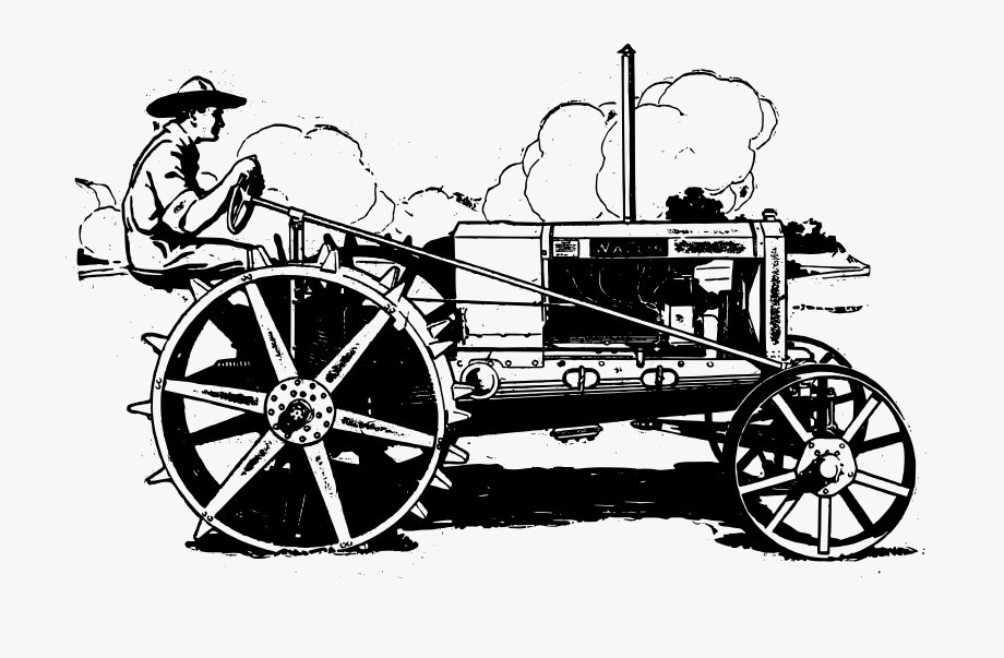 International Harvester Tractor Clip Art Transprent.