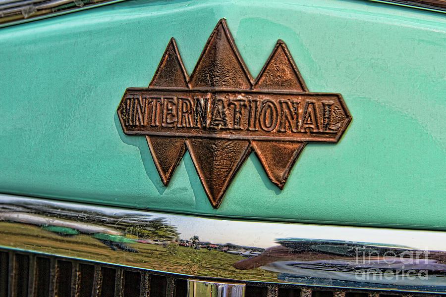1934 International Truck Emblem And Logo.