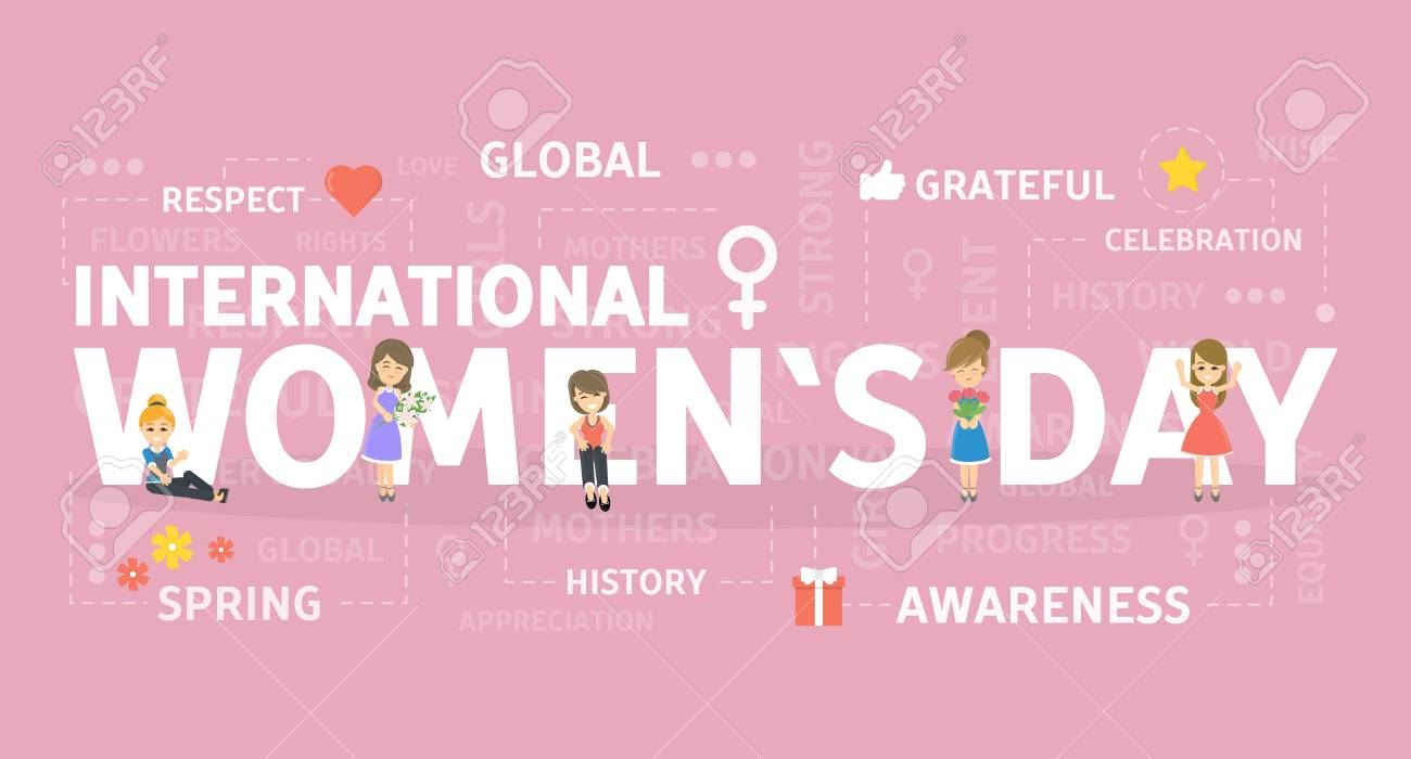 International Women's day banner..