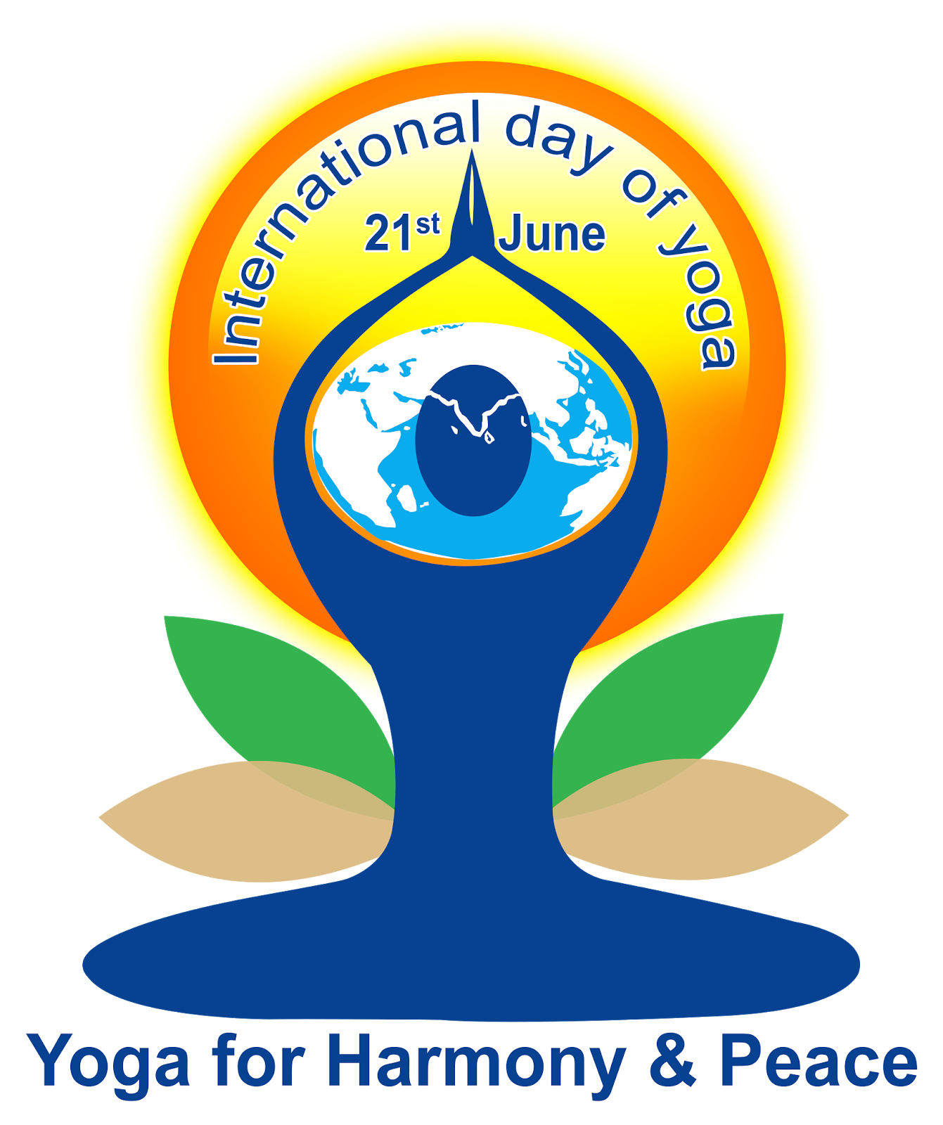 international yoga day logo psd file free downloads.