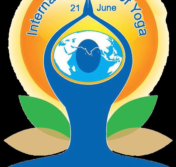 City getting prepared for International Yoga Day tomorrow.