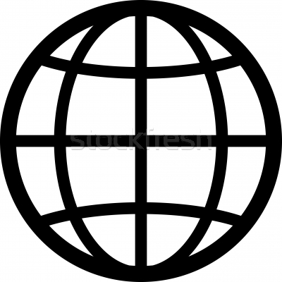 Globe Icon Clipart.