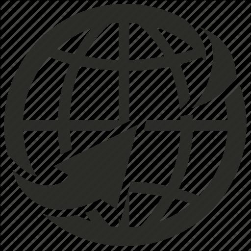 Internet Globe Icon Vector at GetDrawings.com.