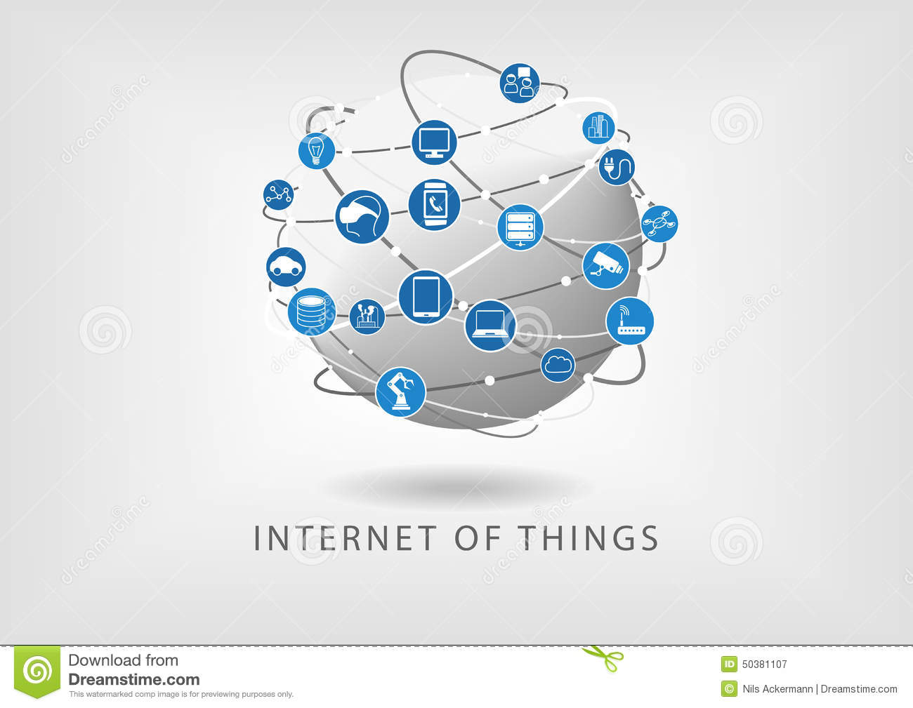 Internet Of Things Clipart.