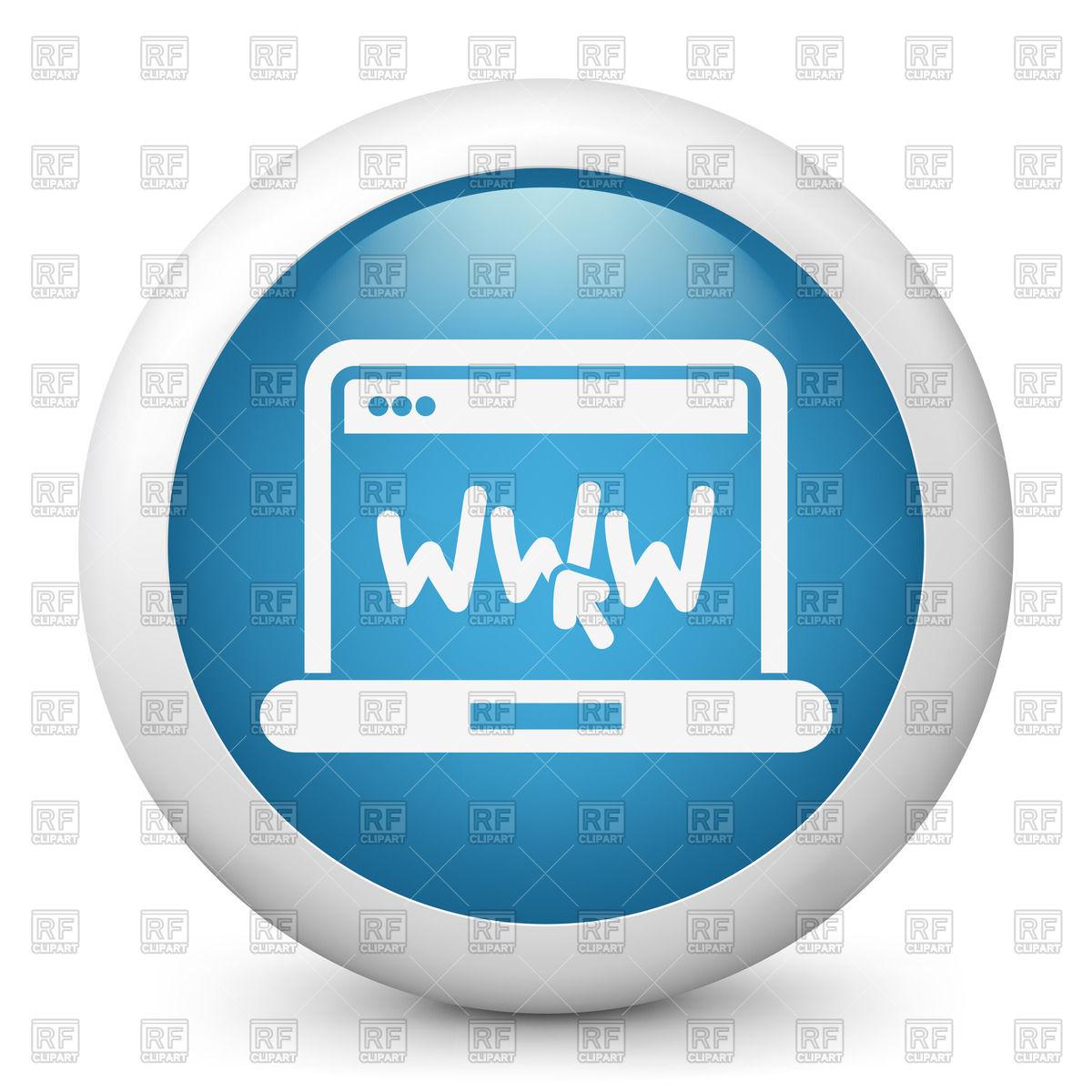 Internet (www) icon.
