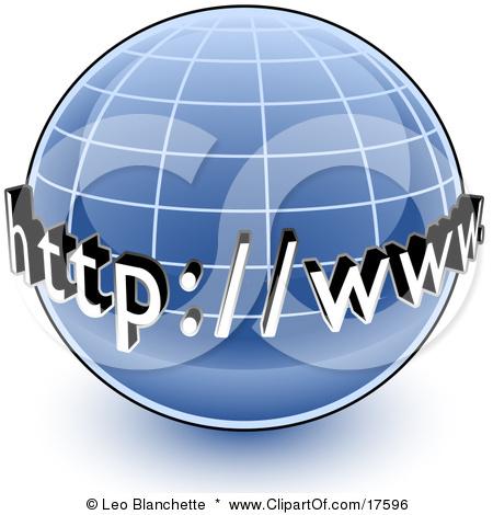 Web page clip art.