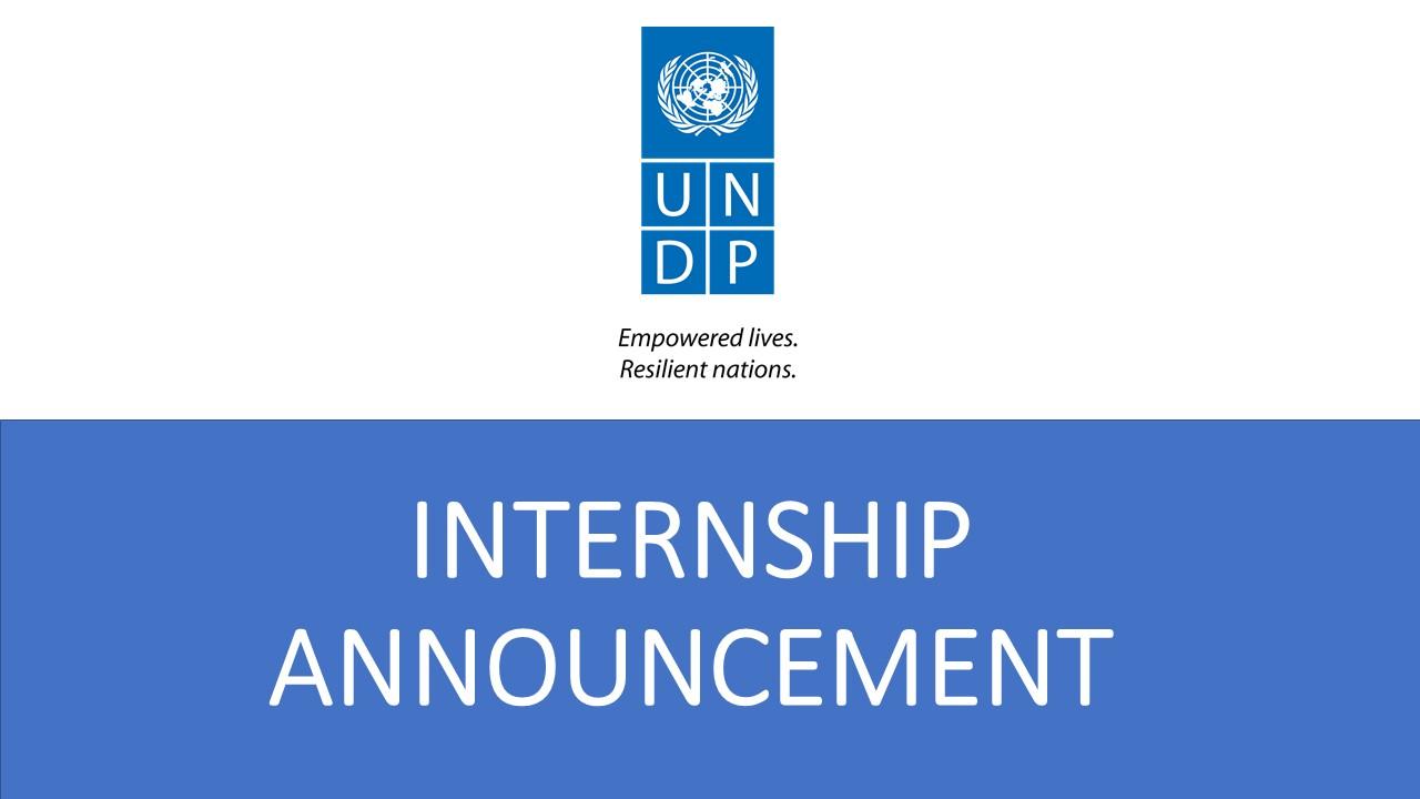 Internship opportunities with UNDP PNG: Governance Portfolio.