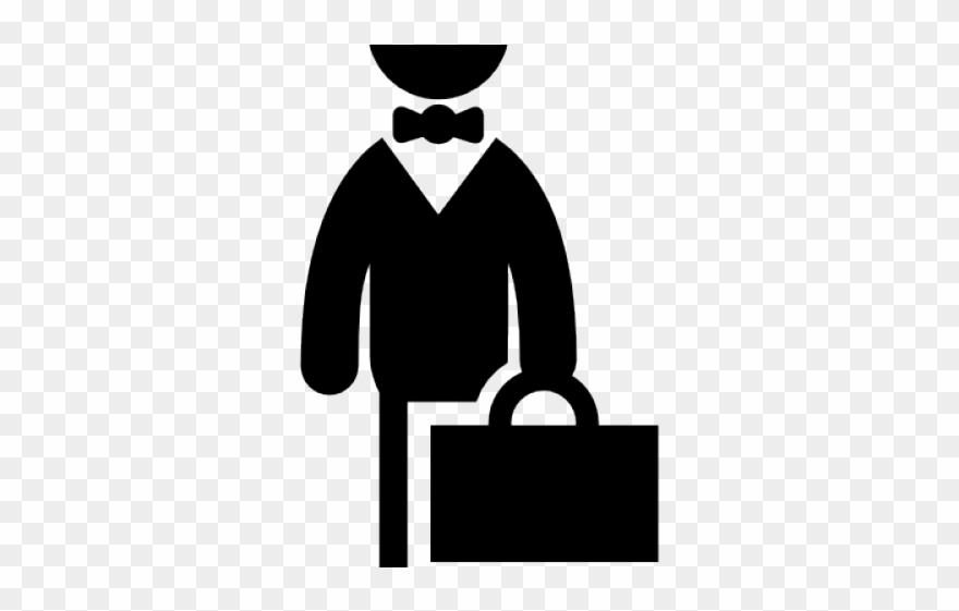 Businessman Clipart Suitcase.