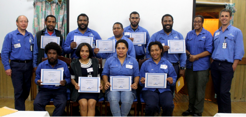 Graduate programme empowering PNG.