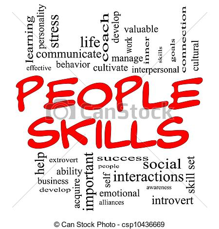 Interpersonal Skills Clipart.