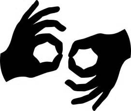 Similiar Deaf Signs Clip Art Keywords.