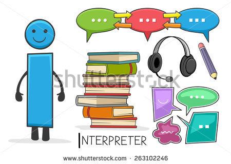 Interpreters Stock Vectors & Vector Clip Art.