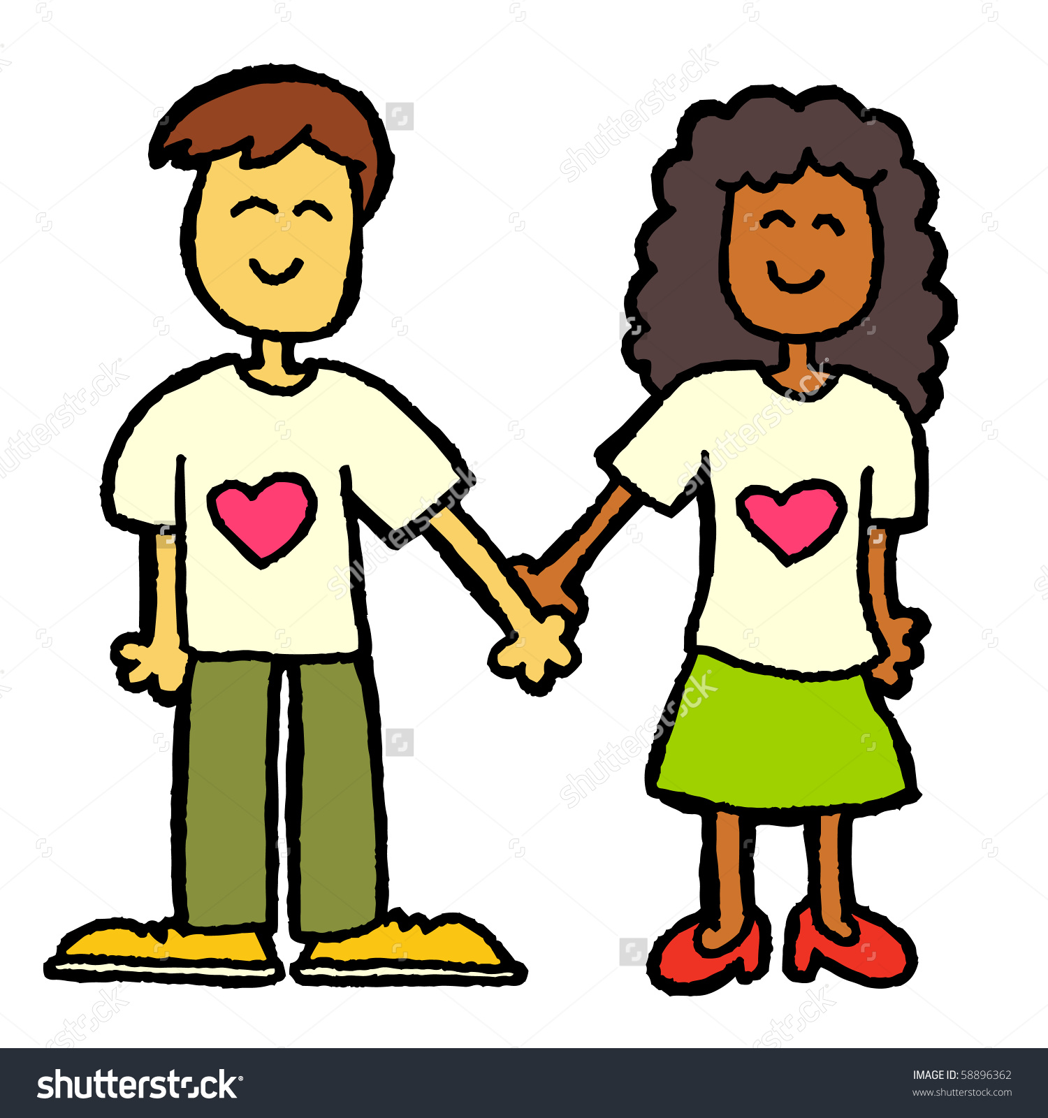 The best free Interracial clipart images. Download from 4.