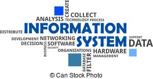 Clipart of Distributed database management system.
