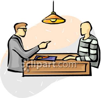 Interrogation Clipart.