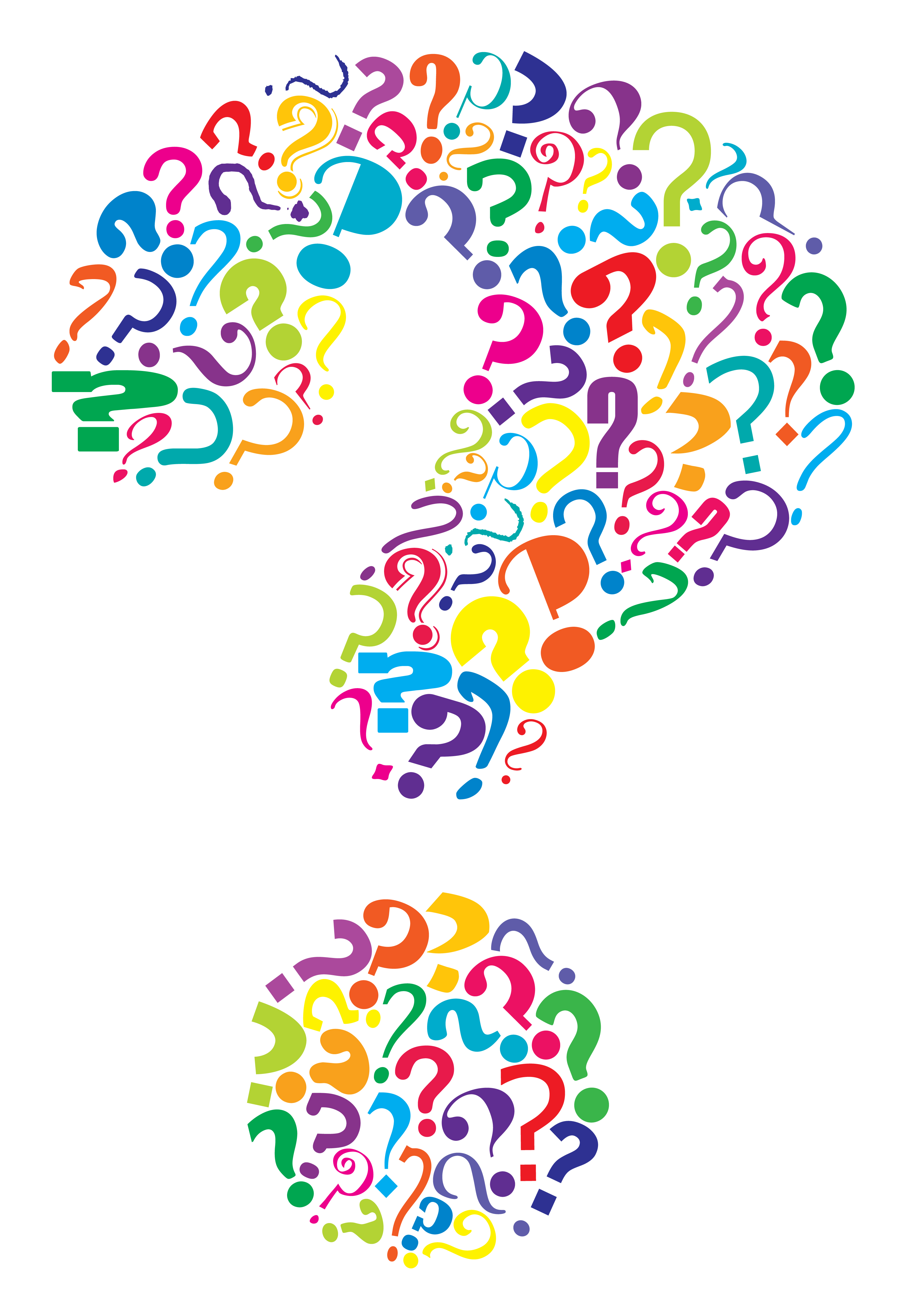 Clipart of question mark.