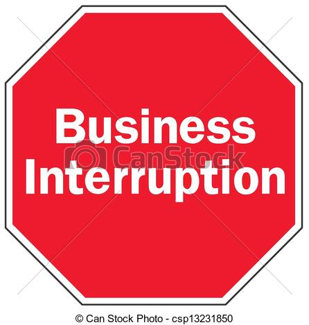 Clipart Vector of business interruption csp13231850.