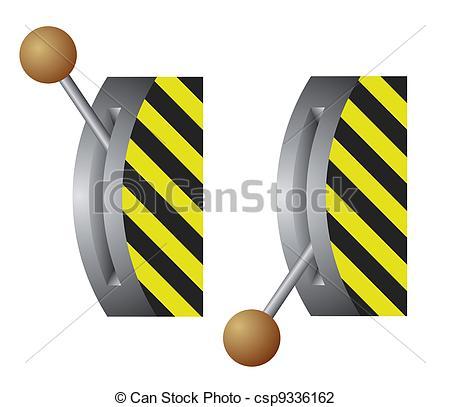 Ilustraciones de Vectores de palanca, interruptor, vector.