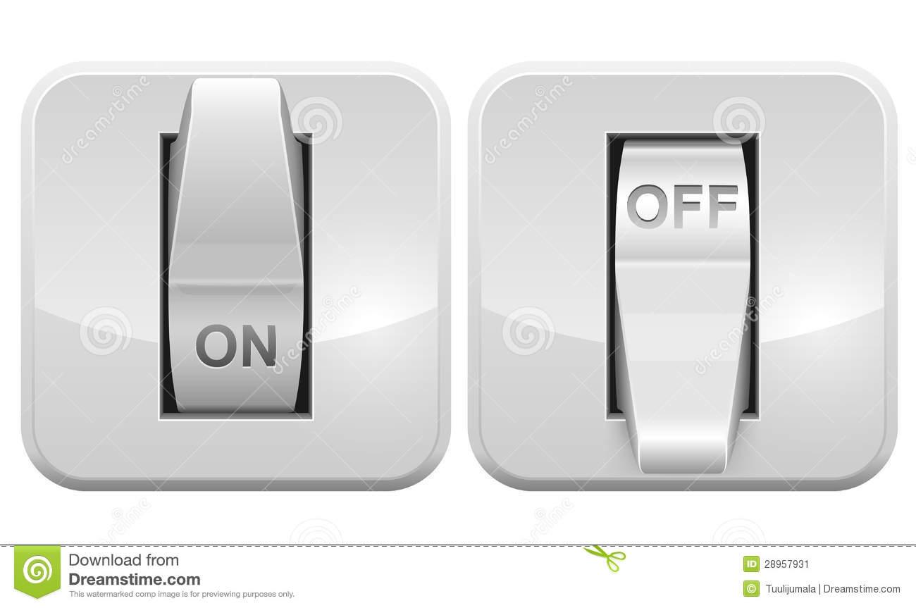 Switch Stock Illustrations.
