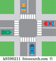 Intersection Clip Art EPS Images. 4,099 intersection clipart.