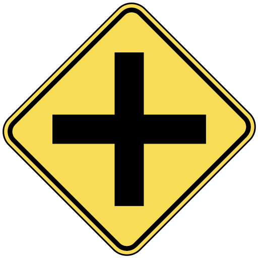 Street Intersection Clipart.