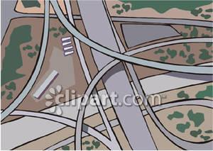 Interstate highway clipart.