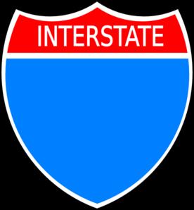 Interstate Clip Art at Clker.com.