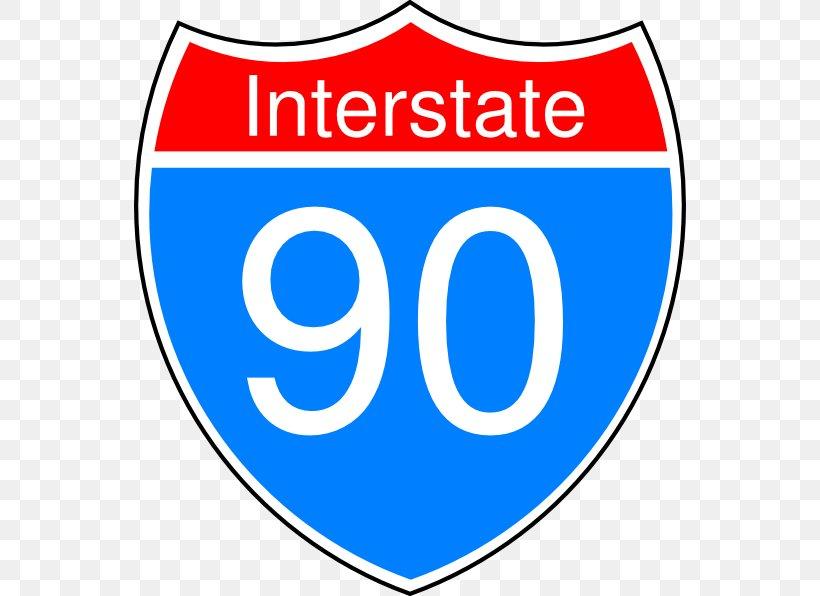 Interstate 90 In Idaho Logo US Interstate Highway System.
