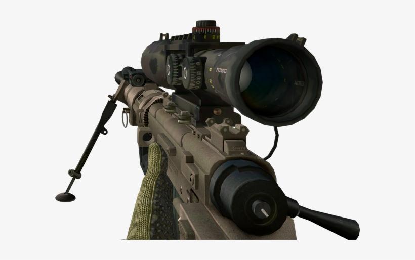 Cod Sniper Png.