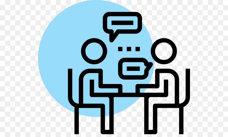 Interview Cartoon png download.