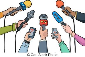 Celebrity interview clipart.
