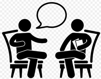 Interview clipart images.