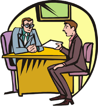 Job Interview Clipart.