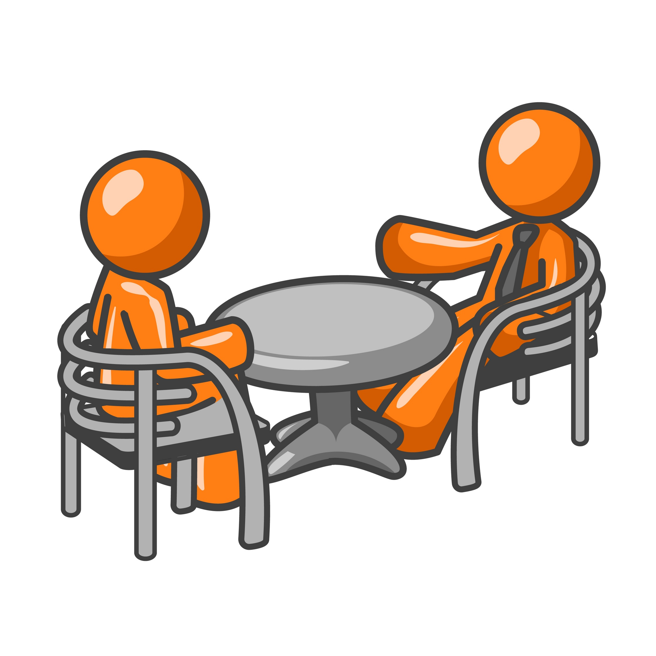 Woman Interview Clipart.