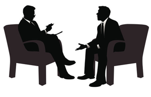 Office Interviews Clipart.