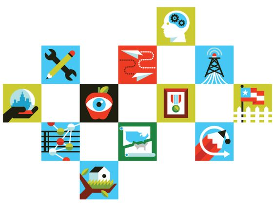 Blog icons for the newly relaunched New York Times Opinionator.